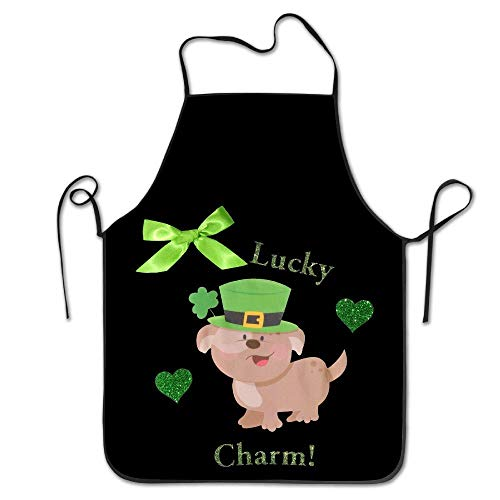 willeing Lucky Charm Saint Patricks Day Pig Cool Apron Cake Aprons (Lucky Cake Charms)