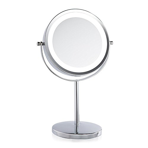 IREALIST Tabletop Double Sided Magnifying 360 Degree