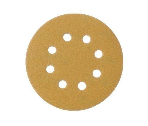 Mestool 58-AP Gold 5-Inch 8-Hole 150 Grit Dustless Hook&Loop 100-pack (150)