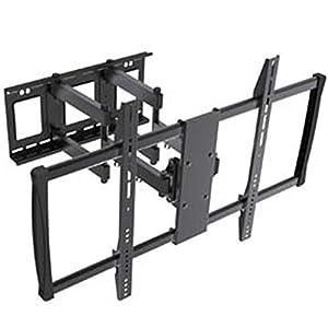"InstallerParts 60""-100"" TV Wall Mount – Swivel/Tilt – LCD LED TV Monitor Flat or Curved Panel Screen – VESA Mount"