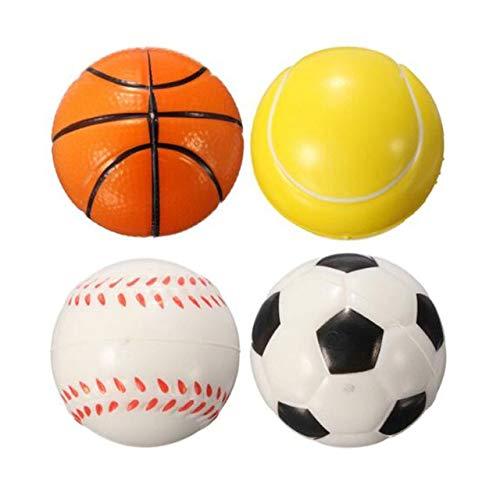 XuBa - Juego de pelotas de baloncesto (6 unidades, 10 cm ...