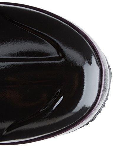 Bogs Womens Classique Hiver Plaid Haut Hiver Neige Botte Noir Multi