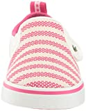 Lacoste Girls' Gazon Sneaker, Off White/Dark