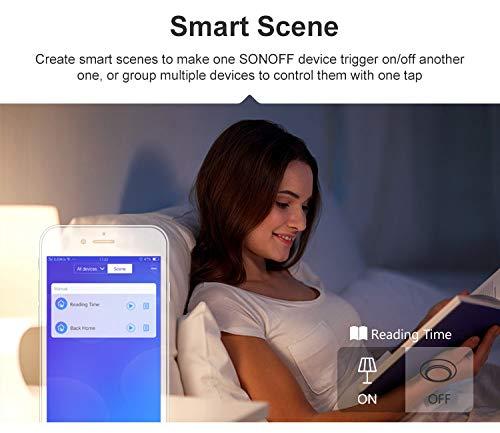 Snowsound Sonoff Basic R3 WiFi Smart Switch APP Ewelink Programmation du module Smart Home Commande vocale Compatible avec Alexa et Google Home