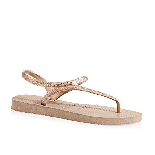 Havaianas Flash Urban Womens Sandals Metallic