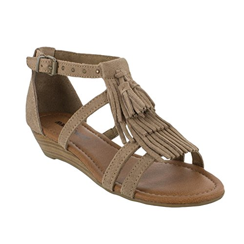 Nuovo Minnetonka donna Marina sandalo Taupe 11