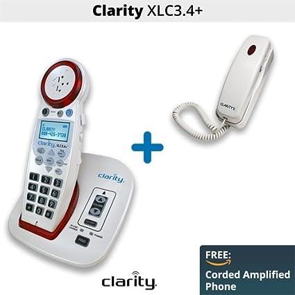 Amazoncom Clarity XLC34 Amplified Cordless Phone 59234 C200