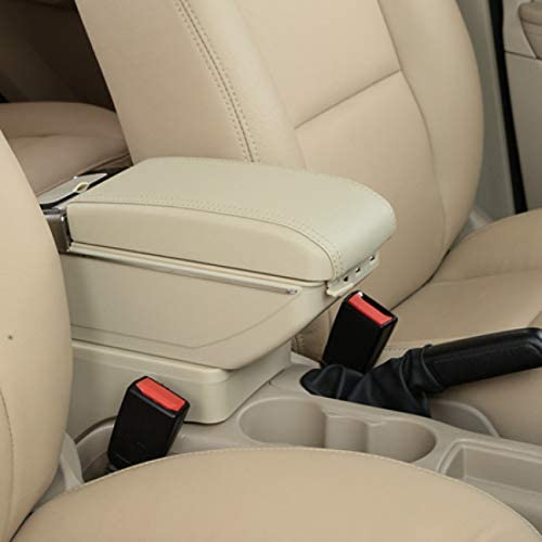 TINTABO Reposabrazos , para VW Polo Mk4 2002-2009 , para Polo Vivo 2010 Consola Central Central Caja de Almacenamiento Reposabrazos: Amazon.es: Deportes y aire libre