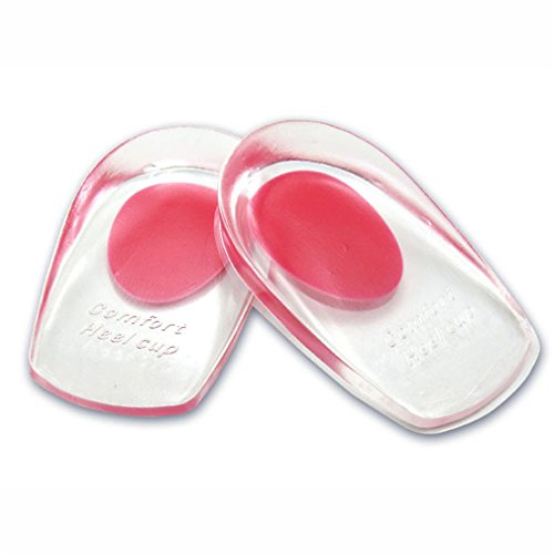 Price comparison product image Meolin Heel Support Pad Cup Gel Silicone Shock Cushion Orthotic Insole Plantar Care