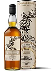 Royal Lochnagar 12 Year Old Single Malt Scotch Whisky 70cl - House Baratheon Game of Thrones Limited Edition