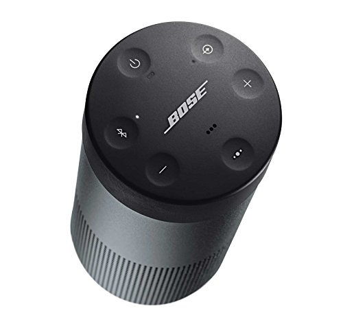 Bose SoundLink Revolve Portable Bluetooth Speaker with 360° Sound, Triple Black, with Charging Cradle & Portable Hardshell Travel Case by Bose (Image #3)