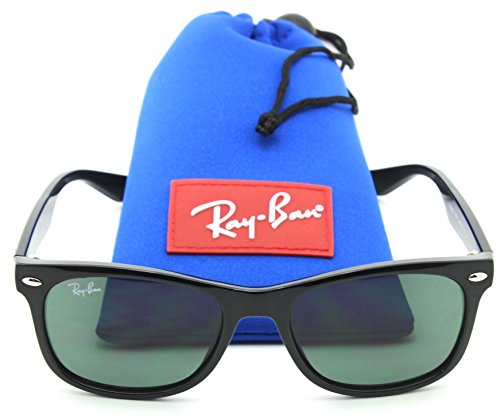 Ray-Ban RJ-9052S 100/71 New Wayfarer JUNIOR Sunglasses Black, - Ray Junior Wayfarer New Ban