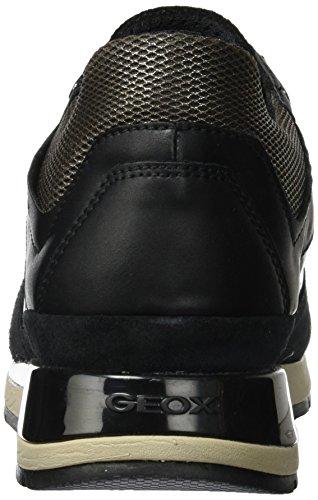 D black Shahira Geox Femme chestnut Basses Sneakers Noir B 0AxZqnwZdv