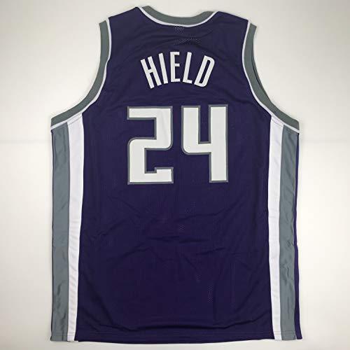 Unsigned Buddy Hield Sacramento Purple Custom Stitched Basketball Jersey Size Men's XL New No Brands/Logos ()