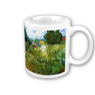 - Marguerite Gachet in the Garden by Vincent Van Gogh Coffee Cup