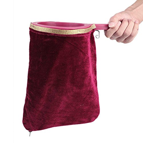 New Magical Magic Props Change Bag Make it Appear or Disappear For Magic Tricks