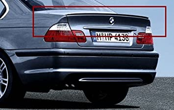 Alerón Trasero Original BMW M para BMW Serie 3 Sedan/Coupe – E46 Coupe: Amazon.es: Coche y moto
