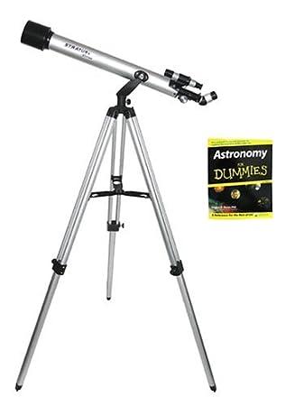 Amazon.com: CStar Telescopio refractor Kit for Dummies (fd ...