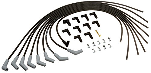 Ford Racing M12259M302 9mm Black Universal Spark Plug Wire Set ()