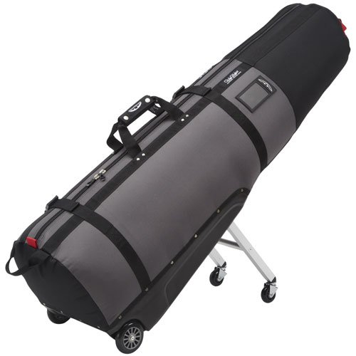 (Sun Mountain Clubglider Journey Wheeled Travel Covers Black/Grey)