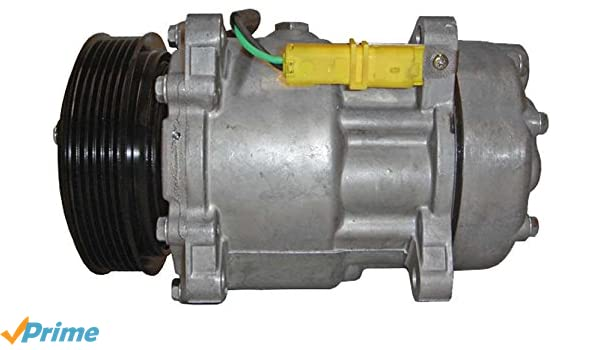 BEHR HELLA SERVICE 8FK 351 127-991 Compresor, aire acondicionado: Amazon.es: Coche y moto