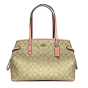 Coach Signature Drawstring Carryall Shoulder Bag F57842