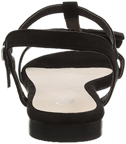 Evans Extra Wide - Zapatos Mujer Black (Black)