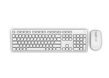 DELL KM636 - Teclado (Inalámbrico, USB, Batería), color blanco, Teclado QWERTZ Alemán [Importado de Alemania]: Amazon.es: Electrónica