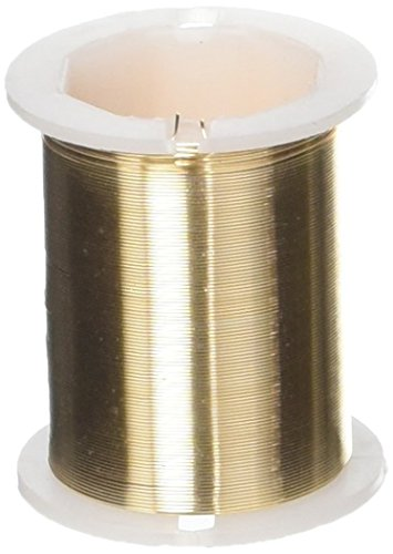 Darice 320284 Beading Wire 28Ga 17Yd One Size Gold