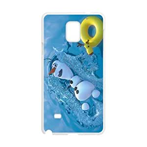 Frozen lovely snow baby Cell Phone Case for Samsung Galaxy Note4 WANGJING JINDA