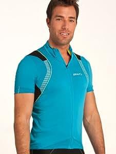 Craft performance-glow-maglia para ciclismo, fiamma, L