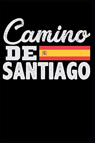 Camino De Santiago: Blank Lined Journal Notebook Diary 6x9 - Way of Saint James (Spanish Edition)
