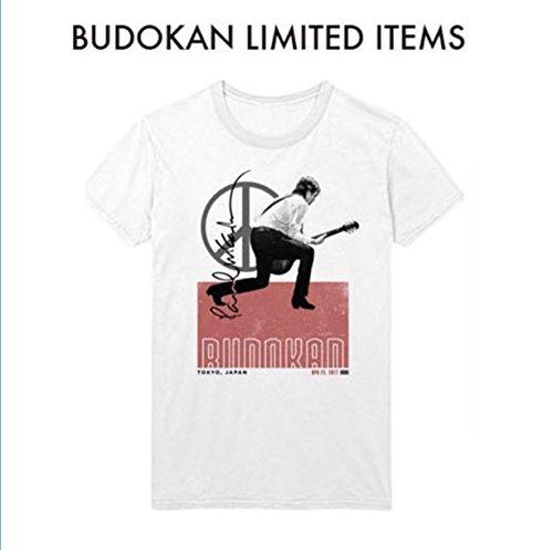 ポール・マッカートニー Paul McCartney ONE ON ONE JAPAN TOUR 2017 公式グッズ Budokan Split White 日本武道館限定 Tシャツ 白 (Mサイズ)の商品画像