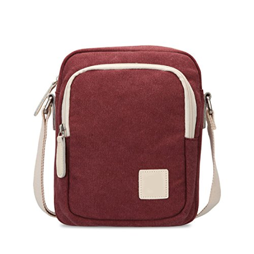 Onorevoli Canvas Messenger Shoulder Bag College Business Ipad,A-OneSize