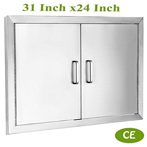 Mophorn Double Wall BBQ Access Door Cutout 31