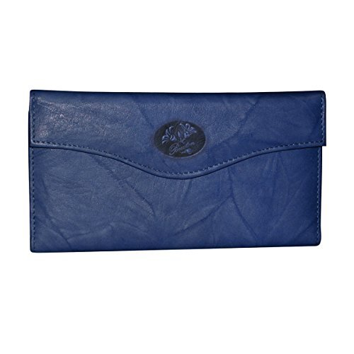 Buxton Heiress Organizer Clutch - Navy by Buxton (Image #1)
