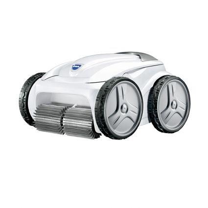 Polaris P945 4-Wheel Drive Robotic Pool Cleaner 9450 Sport Equivalent in White - Sport Robotic Pool Cleaner