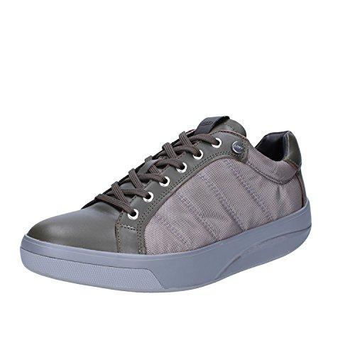 MBT Sneakers Hombre 42 EU Verde/Gris Cuero/Textil
