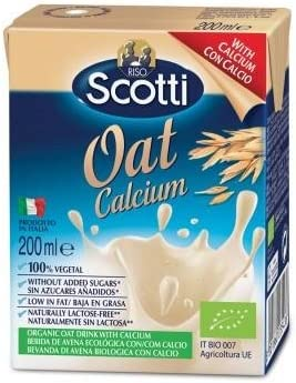 Scotti Bebida Vegetal Bio Avena Calcio, 200 ML: Amazon.es: Hogar