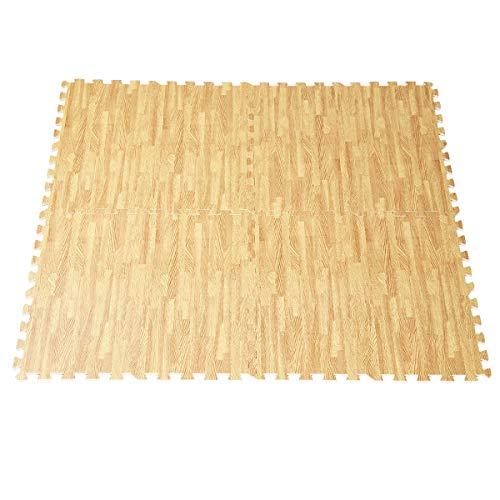 CWY 48 Sq Ft EVA Foam Floor Interlocking Mat Show Floor Gym Mat