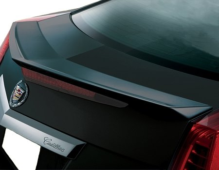 Accent Spoilers-Cadillac CTS 2-Door Coupe Flush Mount Factory Style Spoiler (will not fit the V-type)-Black Paint code: WA8555 ()