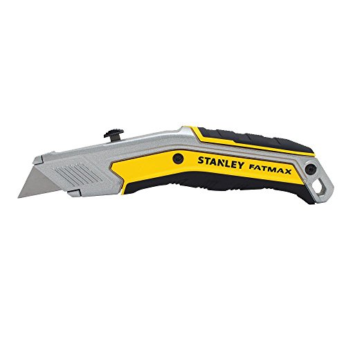 Ergonomic Retractable Knife Standard Handle - Stanley FMHT10288 FatMax ExoChange Retractable Knife, 7 1/4