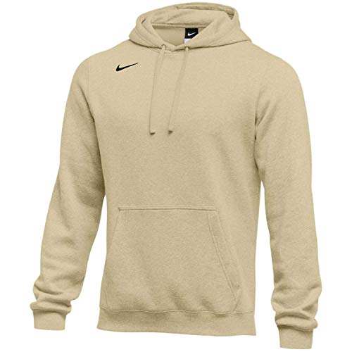 Pullover Club - Nike Men's Pullover Fleece Club Hoodie (XX-Large, Vegas Gold)