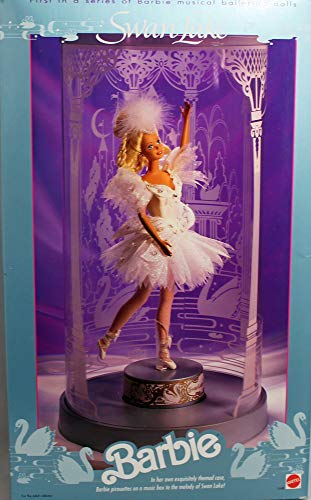 Barbie Swan Lake - First in Series of Musical Ballerina Dolls - 1991