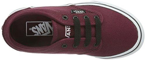 Vans Atwood - Zapatillas para niños Rojo ((Canvas) oxbloo DDU)