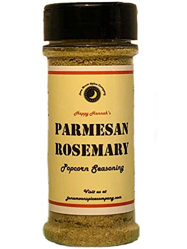 Premium   PARMESAN ROSEMARY Popcorn Seasoning   Crafted in Small Batches with Farm Fresh HERBS for Premium Flavor and Zest