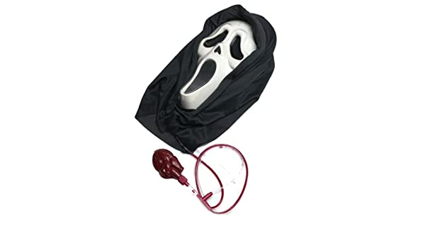 Scary Halloween Masks | Bleeding Scream Mask (máscara/careta): Amazon.es: Juguetes y juegos