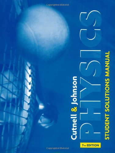 Physics: Student Solutions Manual, 7th - Outlet Stores Johnson Creek