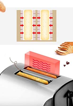 Aufwärm Toaster Haushalt Toaster Vollautomatischer Toaster Für Den Hausgebrauch