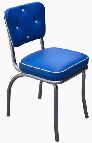 Lucy Diner Chair   Royal Blue